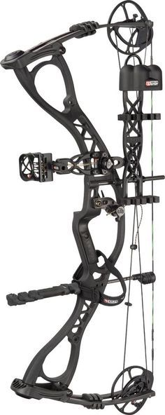 Hoyt Charger RTH Compound Bow Left Hand Black Out Hunting Archery Pakage