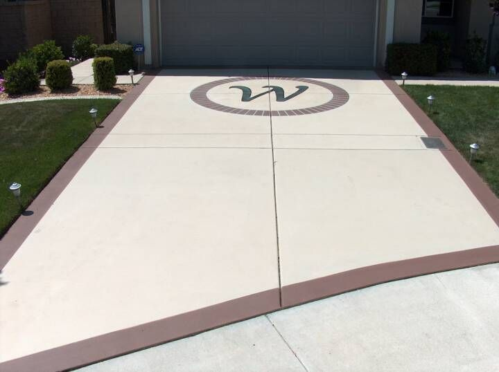 11 best images about our painted driveway on pinterest for Can i paint asphalt driveway
