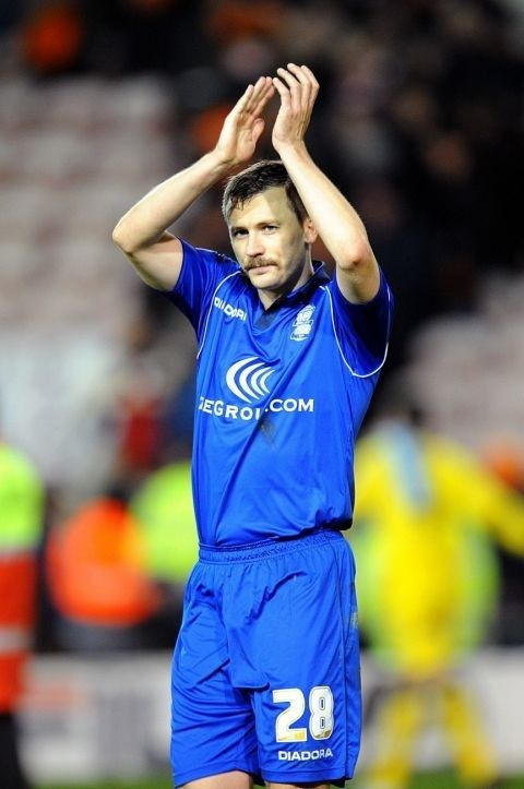 Birmingham City's Paul Caddis