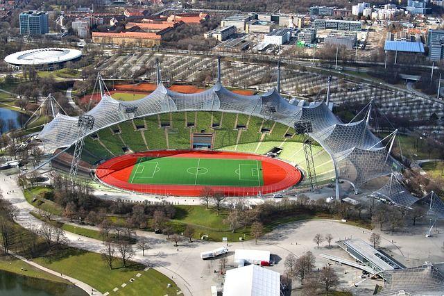 Olympiastadion, #München,