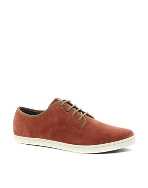 Fred Perry Hunt Suede Plimsolls