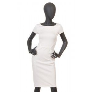 Blugirl by Blumarine - biała sukienka