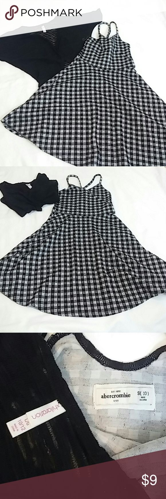 Abercrombie girls dress 10 Abercrombie girls dress size 10 and black xhilaration sweater abercrombie kids Dresses Casual