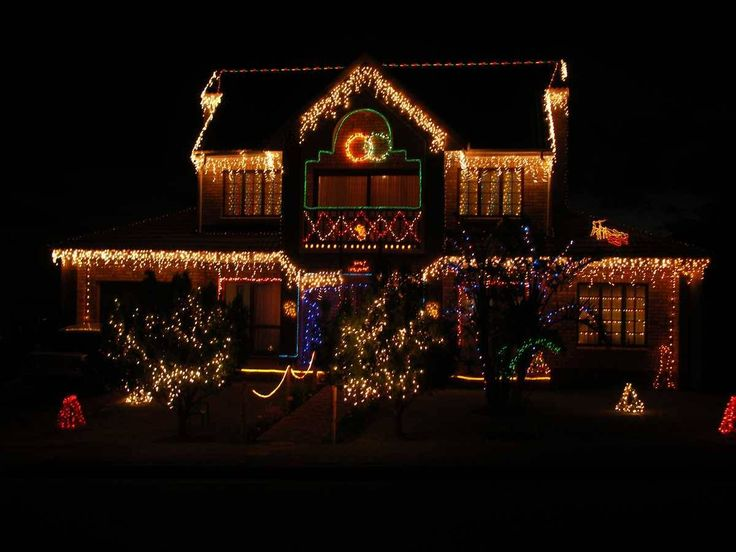 Christmas Decorated Homes wrap your home in holiday lights | outdoor christmas, christmas