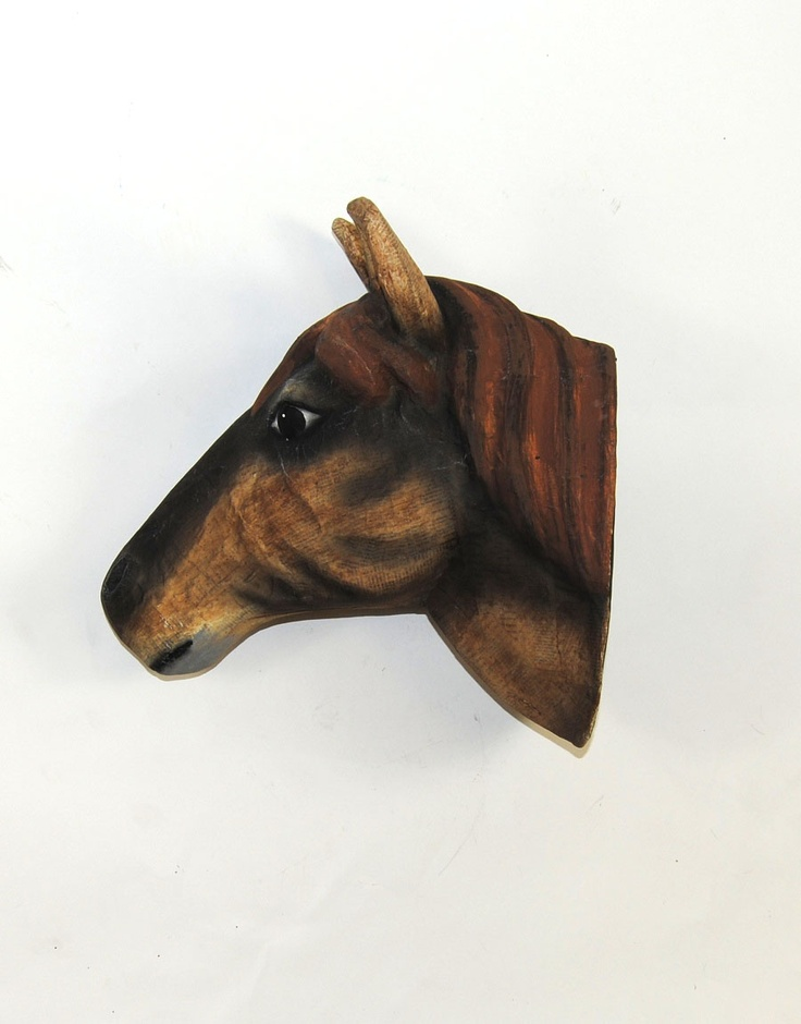 The Mache Horse Head Paper Mache Animal Heads Faux Taxidermy