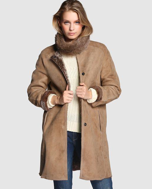 6ea60298d15 ABRIGOS DE PIEL DEL CORTE INGLES  abrigos  chaquetadecuero  corte  ingles