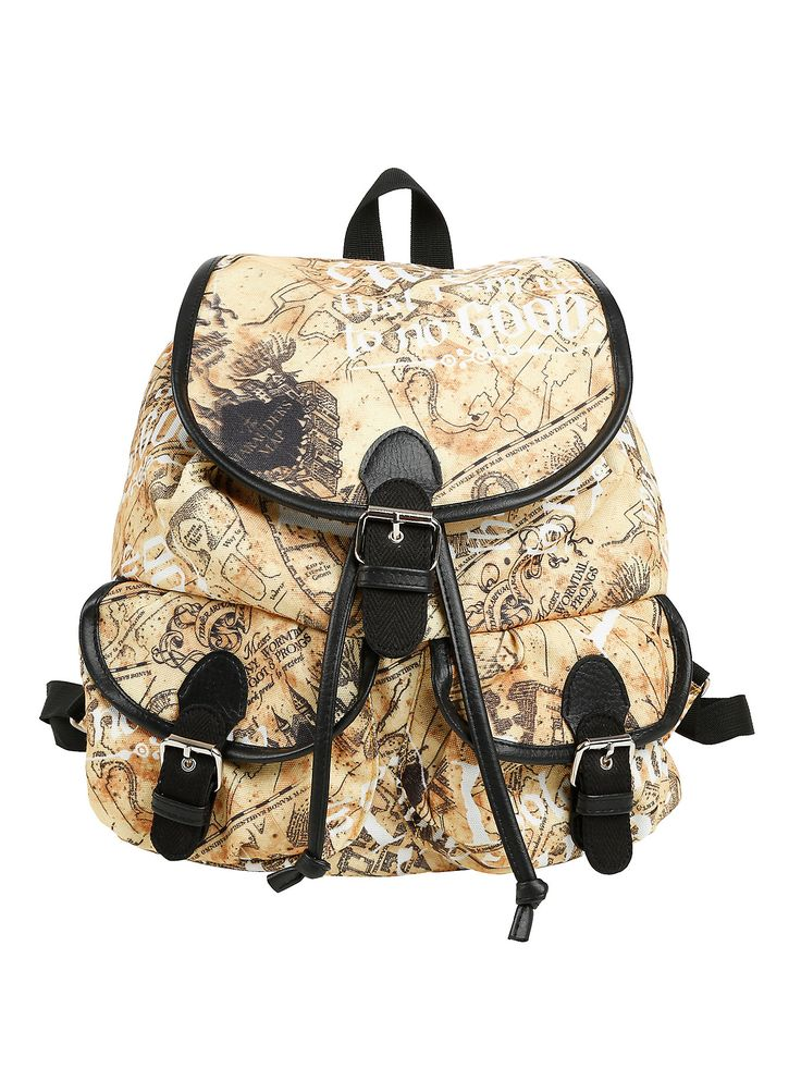 Harry Potter Maurader's Map Slouch Backpack,