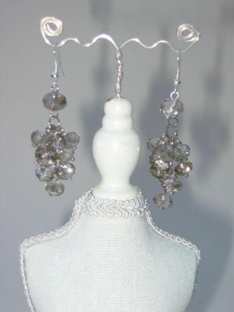 Bruidssieraden - EMarree.com  Trosjes kristal diamant oorbellen