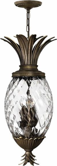 Hinkley Lighting 2222 Plantation Outdoor Hanging Lantern Solid Brass Or  Cast Aluminum With Choice Of Finish