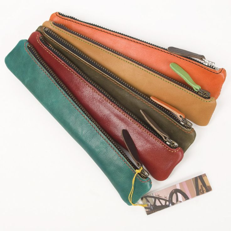 Leather Pencil case small | Wolfram Lohr