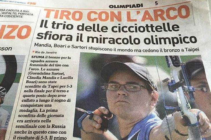 La portada que le costó el puesto de trabajo al director de un diario deportivo en Italia