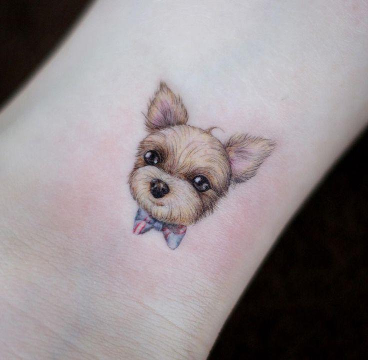 Sweet Little Pet Dog | Best tattoo ideas & designs