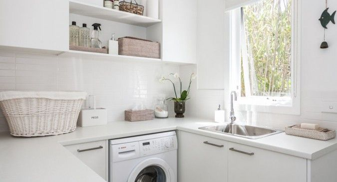 Address your laundry area with the same care and quality as your kitchen. #parkplaceontario