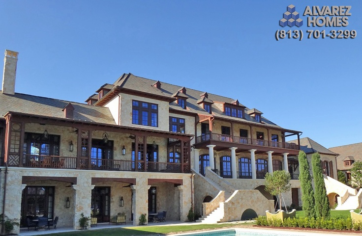 Alvarez homes 813 701 3299 custom built this luxury for Dream homes builders