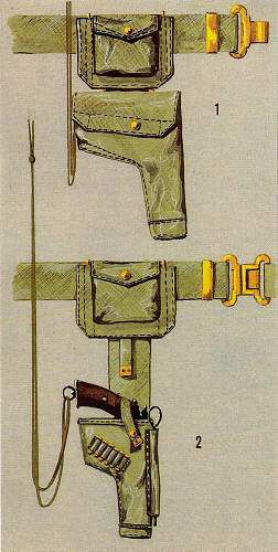 The Polish 1st Armoured Division.  -Holster/Ammo pouch-officer.