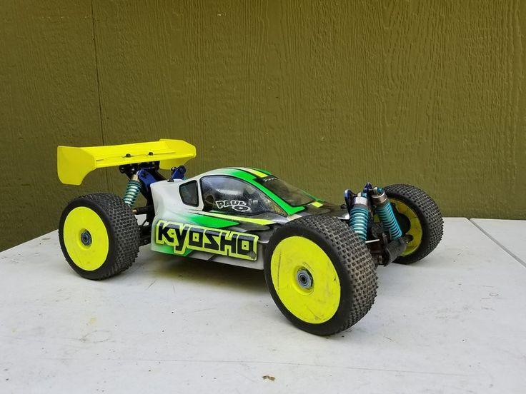 USED KYOSHO INFERNO MP 777 NITRO BUGGY  #Kyosho