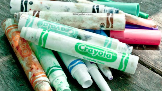 recycling Crayola markers tutorial (other brands may not be recyclable)