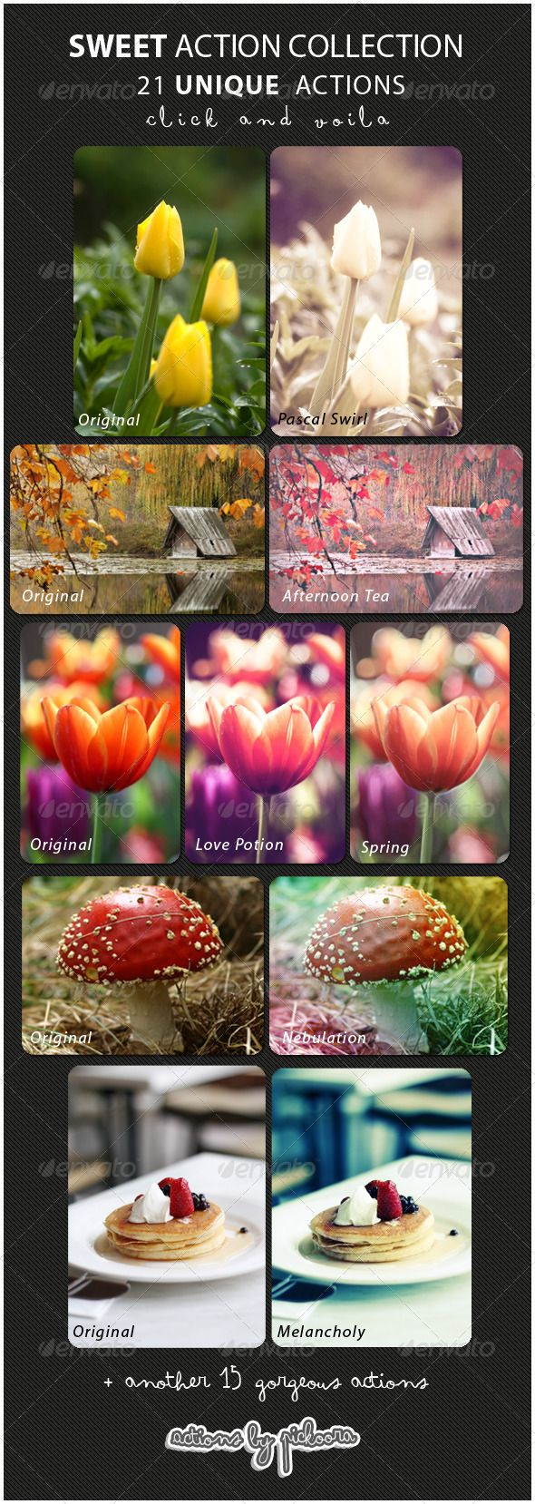 21 Sweet Photo Effects