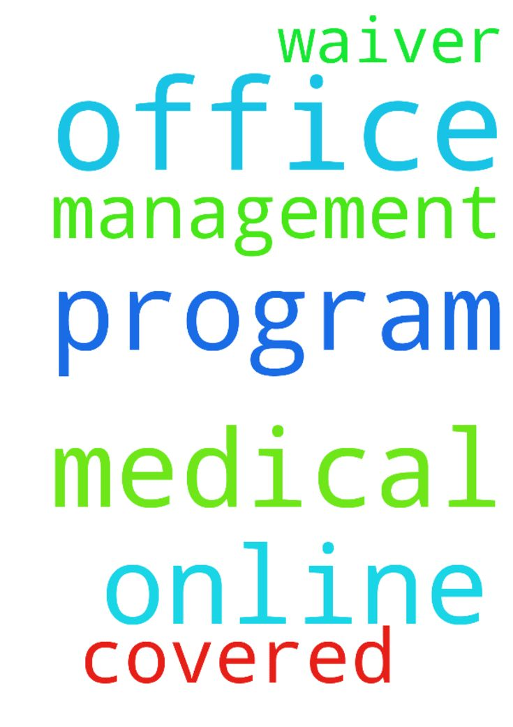 My Lord, I pray. The online program for medical office - My Lord, I pray. The online program for medical office management will be covered by my waiver. Amen. Posted at: https://prayerrequest.com/t/IGk #pray #prayer #request #prayerrequest