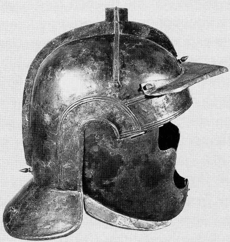 Roman Military Equipment: Helmets