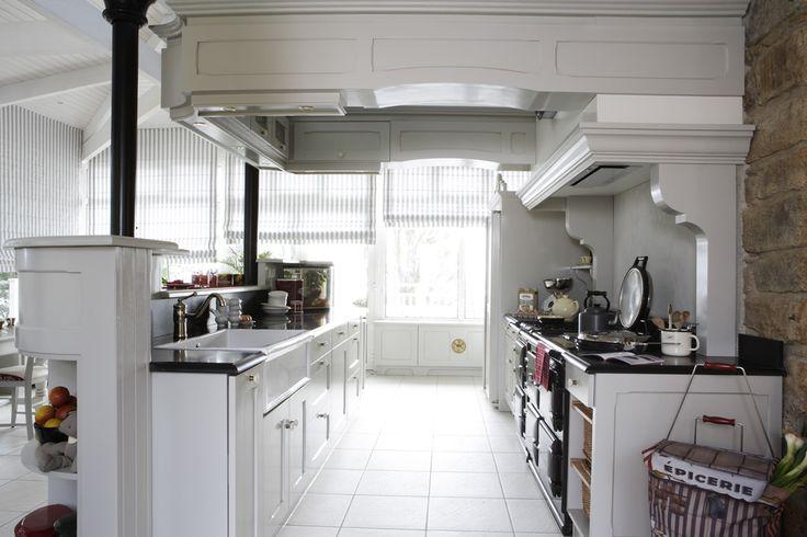 17 best images about cuisines esprit cottage on pinterest coins cottages and ranges. Black Bedroom Furniture Sets. Home Design Ideas