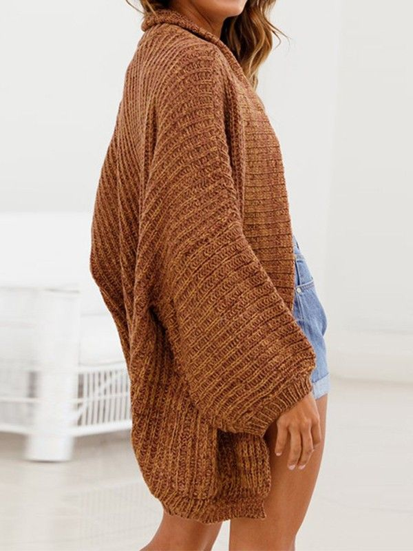High Fashion 2019 authentisch attraktive Farbe Braun Taschen Fledermausärmel Mode Damen Lässige Oversize ...
