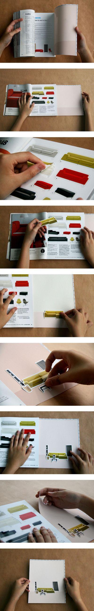D 2010 : Ikea Open Brief. by Yizhen Huang, via Behance