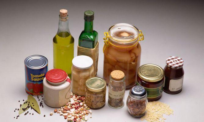 Guía para almacenar en la despensa