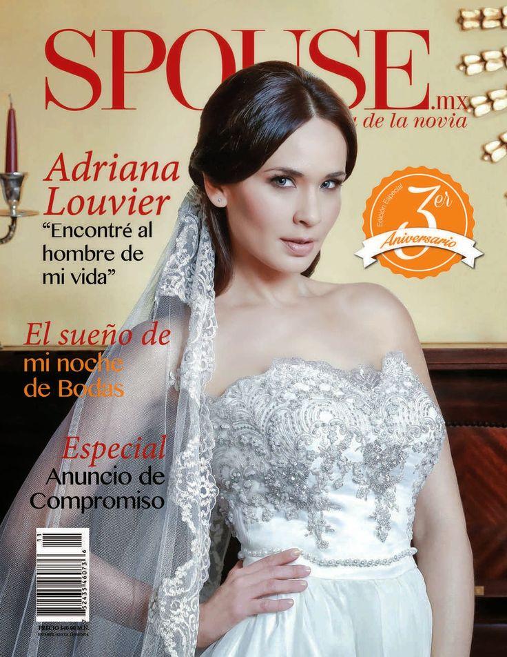 "Actrices y actores latinos: Spouse - Adriana Louvier: ""Encontré al hombre de m..."