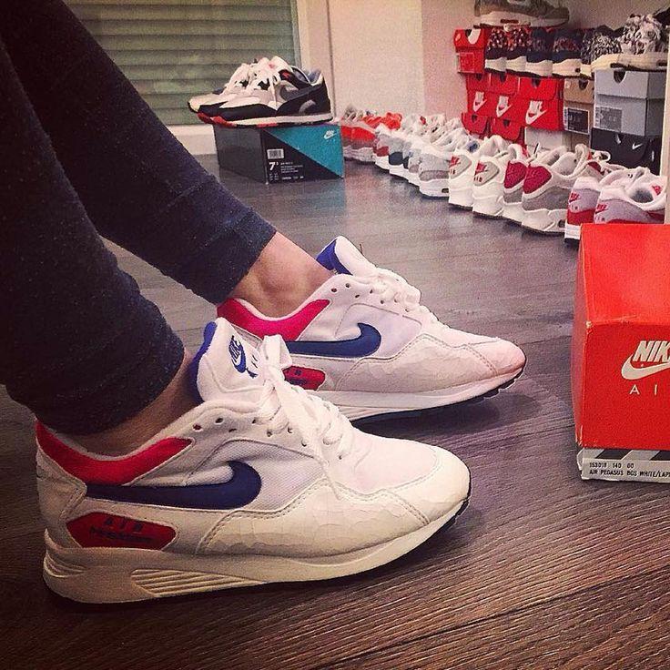 Sneakers femme - Nike Air Pegasus OG 1991 (©lucie_la2)