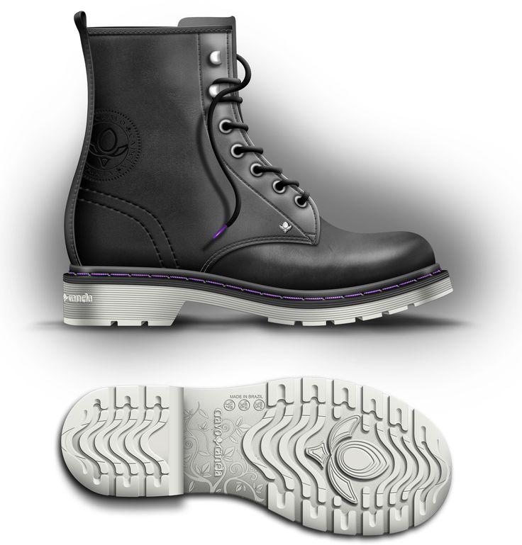 Boots Cravo e Canela