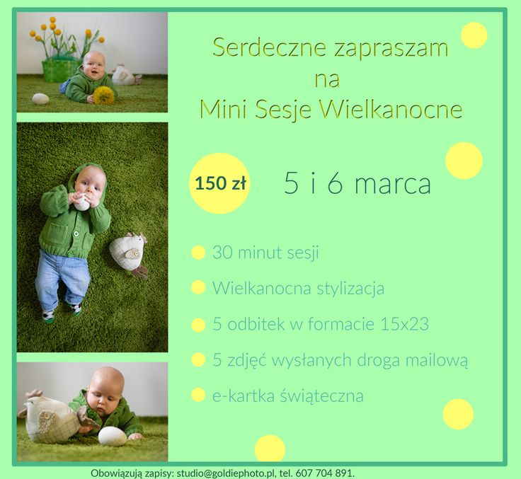 MINI SESJE WIELKANOCNE | Goldie Photo
