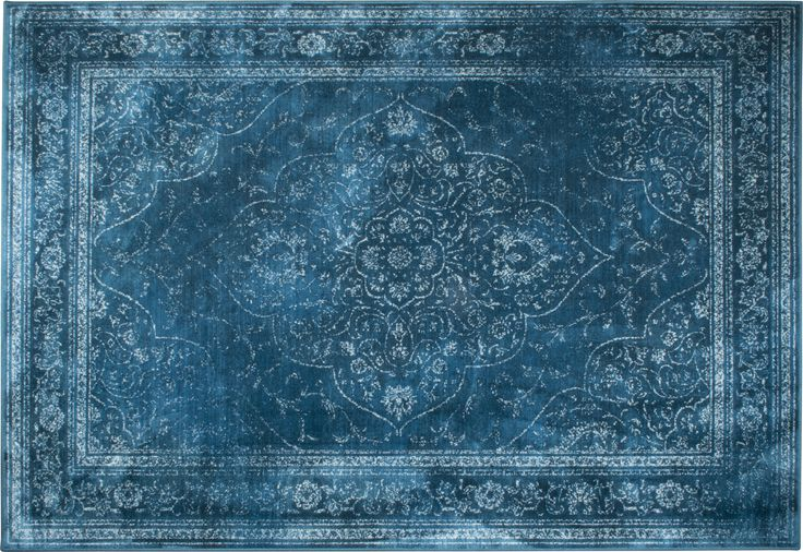 Rugged Ocean Blue 2 sizes • 170 x 240 cm • 200 x 300 cm