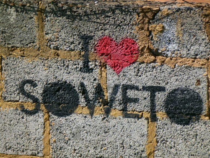 I heart Soweto graffiti