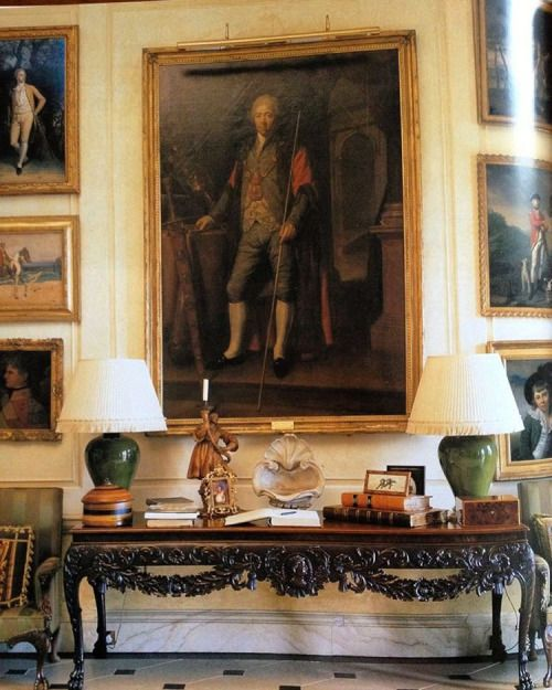 So English. #interiors #thefullerview #tumblr #ancestors #portrait #english