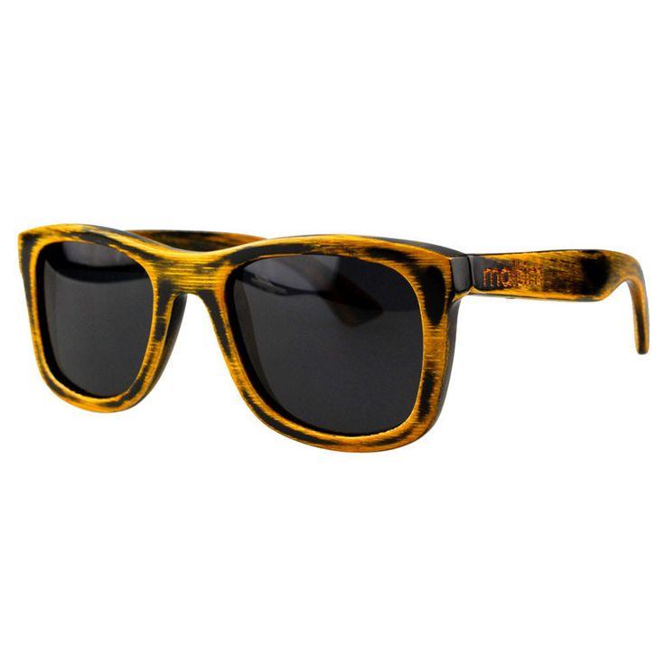 """Ξύλινα Γυαλιά Ηλίου Wayfarers """"SAGA"""" Tortoise"""