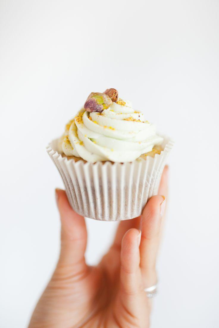 Pistachio Cupcake  Made by Cake Me! Oslo www.facebook.com/cakemeoslo
