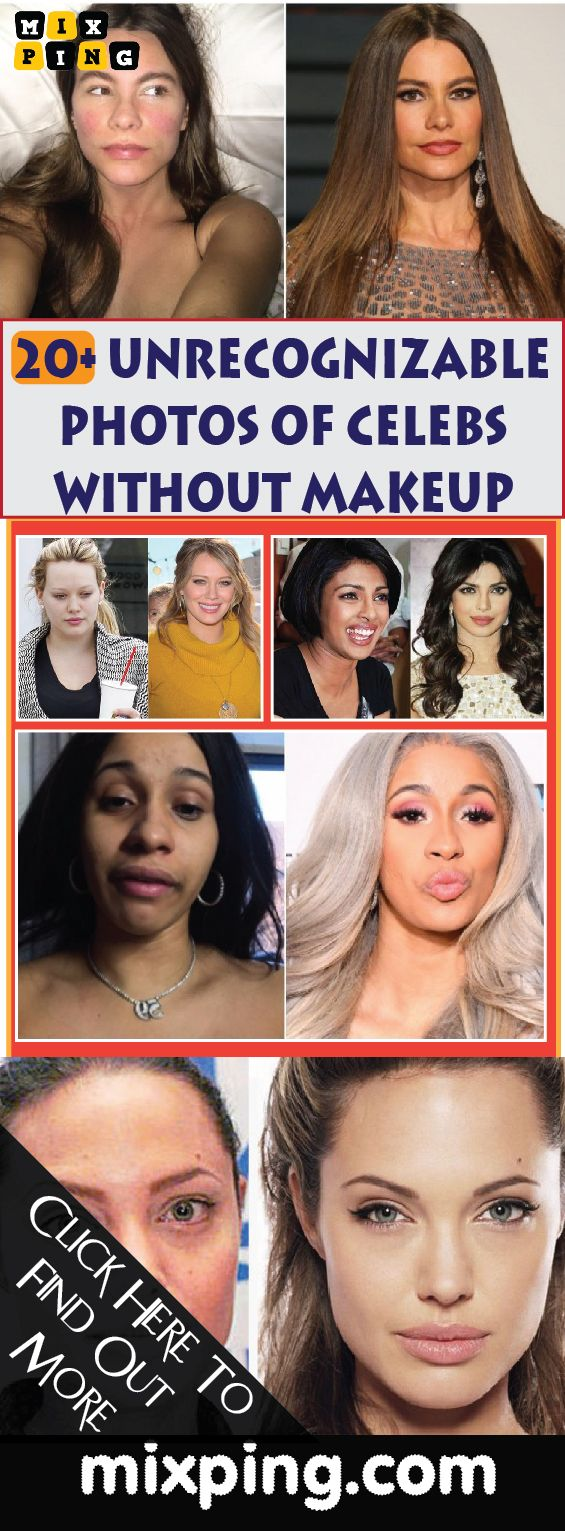 CELEBRITIES WITHOUT MAKEUP – THERE'S NOTHING BAD IN BEING YOURSELF.