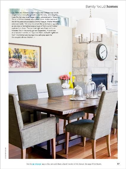 Homes - clipped from page 87 of Home Beautiful, Jul 2014 issue by the Netpage app.