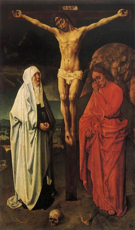 Hugo van der Goes - The Crucifixion (1470)