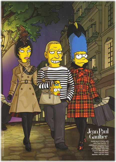 Jean Paul Gaultier Simpsons