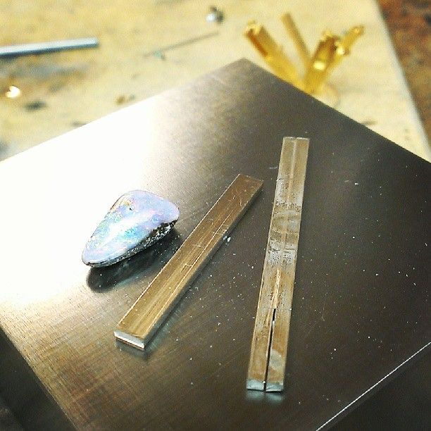 I have decided to fabricate this one. Opal and...