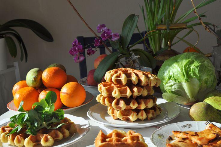 waffle na slano