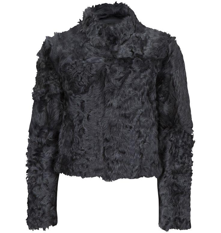 Nyyyydelig saue-pels jakke