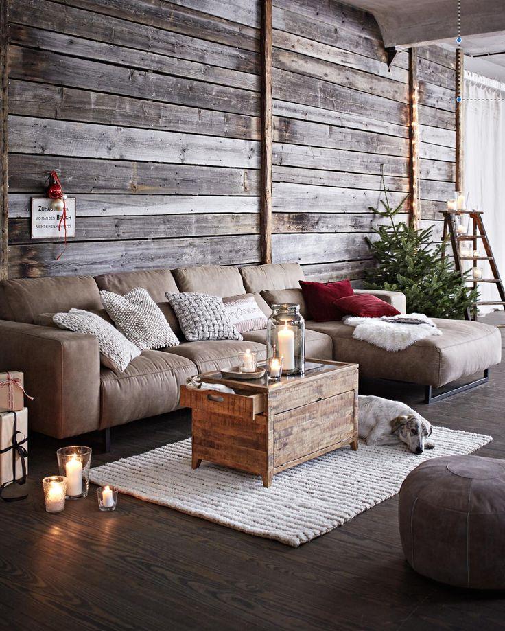 Diese opulente Sitzlandschaft läd zum gemütlichen Relaxen und Plaudern ein.
