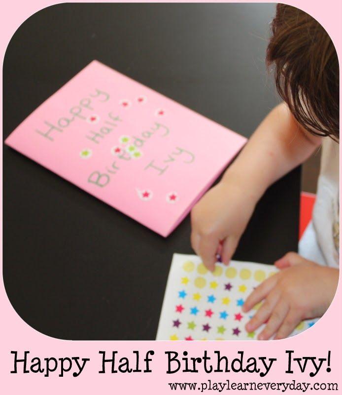 Best 25 Happy half birthday ideas on Pinterest Thoughtful gifts