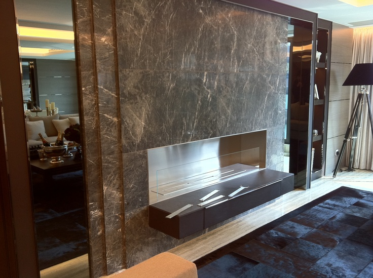 Safretti custom made burner at private residence, Hong Kong.