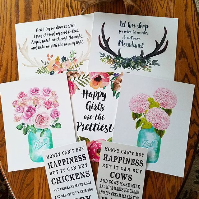 What a funny combo going out in todays mail!  Chickens, Cows, Pretty Girls, Antler Baby Boy, Antler Prayer!  I missed taking shots of the last few days... Thank you so much friends for shopping with me and keeping me busy doing what I love!  I hope you have an amazing Friday!  . . . #pink #pinkflower #pinkflowers #hydrangea #hydrangeas #pinkhydrangea #pinkhydrangeas ##roses #pinkroses #valentines #valentine #valentinedecor #valentinegift #love #gift #gifts #momgift #mothergift #sistergif