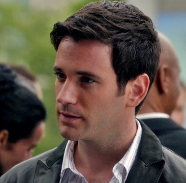 Colin Donnell as Tommy on Arrow.  Love the hair.  Perfect length of sideburns. :)