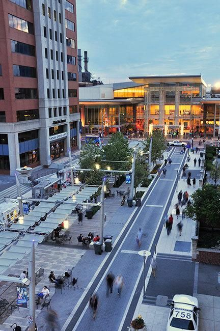 Pedestrian-friendly Georgia St, Indianapolis. Click image for link to full…